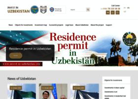 Invest-in-uzbekistan.org thumbnail