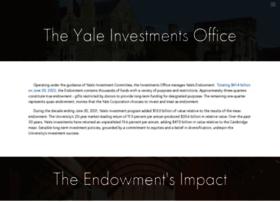 Investments.yale.edu thumbnail