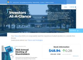 Investor.altria.com thumbnail