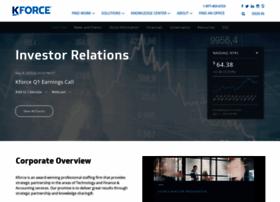 Investor.kforce.com thumbnail