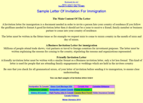 Invitationletter.net thumbnail