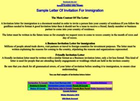 Invitationletter.net thumbnail