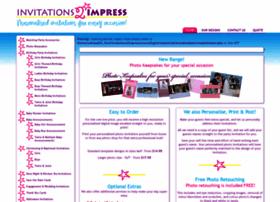 Invitations2impress.com thumbnail