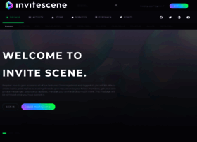 Invitescene.com thumbnail