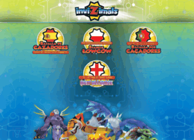Invizimals-tcg.com thumbnail