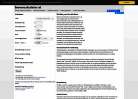 Invoercalculator.nl thumbnail