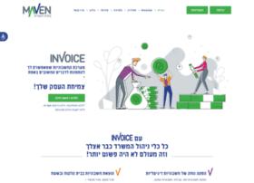 Invoice-maven.co.il thumbnail