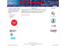 Iot-summit.org thumbnail