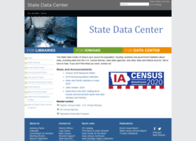 Iowadatacenter.org thumbnail