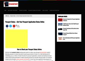 Ipassportstatus.in thumbnail