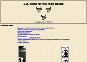 Iq-tests-for-the-high-range.com thumbnail