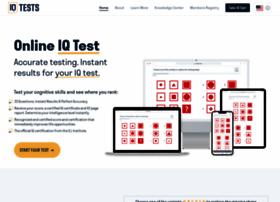 Iq-tests.org thumbnail