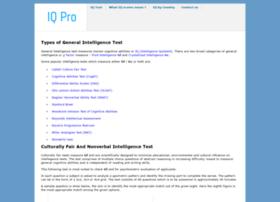 Iqpro.org thumbnail