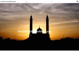Iranisnottheproblem.org thumbnail