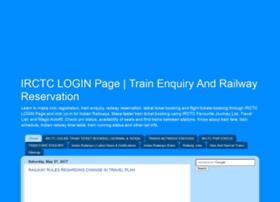 Irctc-logins.in thumbnail