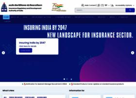Irda.gov.in thumbnail
