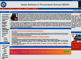 Ireps.gov.in thumbnail