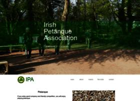 Irishpetanque.org thumbnail