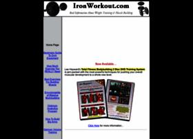 Ironworkout.com thumbnail