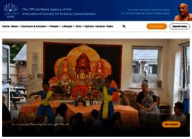 Iskconnews.org thumbnail
