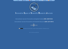 Issr-journals.org thumbnail