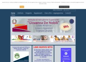 Istitutodenobili.gov.it thumbnail