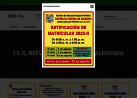 Istrfa.edu.pe thumbnail