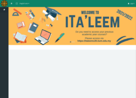Italeem.iium.edu.my thumbnail