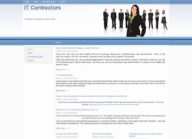 Itcontractors.org thumbnail