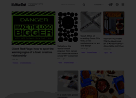 Itsnicethat.com thumbnail