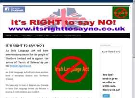 Itsrighttosayno.co.uk thumbnail