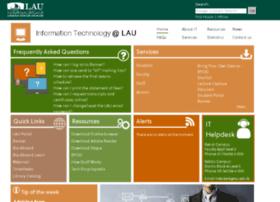 Itweb.lau.edu.lb thumbnail