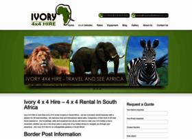 Ivory4x4hire.co.za thumbnail
