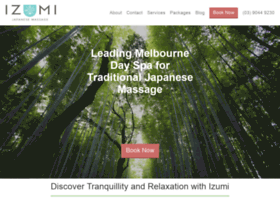 Izumimassage.com.au thumbnail