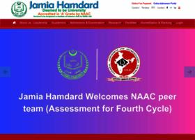 Jamiahamdard.edu thumbnail