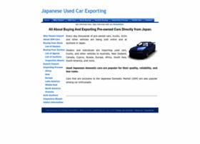 Japan-used-car-exporting.info thumbnail