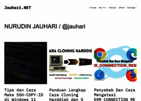 Jauhari.net thumbnail