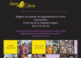 Jaunecitron.fr thumbnail