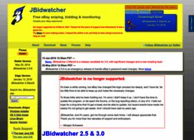 Jbidwatcher Com At Wi Jbidwatcher Free Ebay Auction Sniping Bidding Monitoring Software