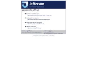 Jeffmail.jefferson.edu thumbnail