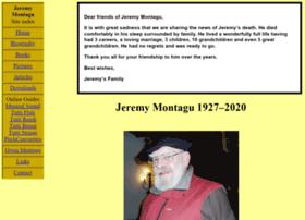 Jeremymontagu.co.uk thumbnail
