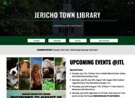 Jerichotownlibraryvt.org thumbnail