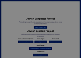 Jewish-languages.org thumbnail