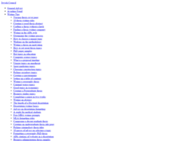 Jewishcouncil.info thumbnail