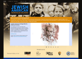 Jewishheritagemonth.gov thumbnail