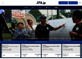 Jfa.jp thumbnail