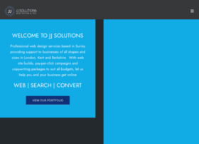 Jj Solutions Com At Wi Professional Web Design Company For Surrey Kent London Jj
