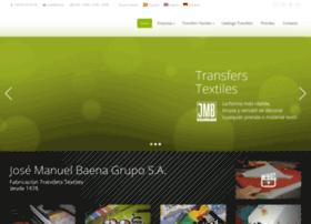 77d086661ba95 jmb.es at WI. Transfers Textiles ® - JMB Grupo