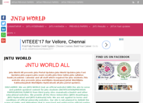 Jntuworldall.in thumbnail