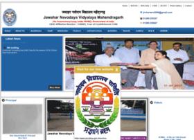 Jnvmahendragarh.gov.in thumbnail